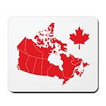 Canada Map Mousepad