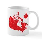 Canada Map Mug