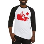 Canada Map Baseball Jersey