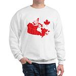 Canada Map Sweatshirt