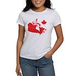 Canada Map Women's T-Shirt
