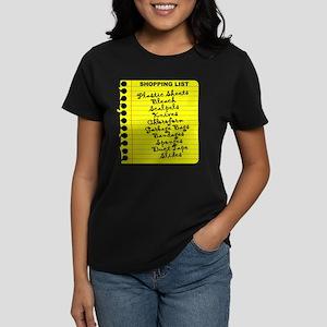Dexter's Shopping List Women's Dark T-Shirt