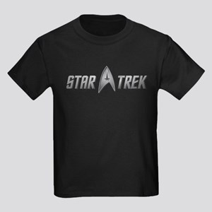 Star Trek light silver Kids Dark T-Shirt