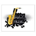 Jazz music Small Poster