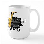 Jazz music Large Mug