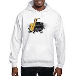 Jazz music Hooded Sweatshirt