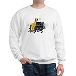 Jazz music Sweatshirt
