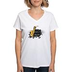 Jazz music Women's V-Neck T-Shirt