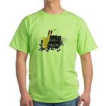Jazz music Green T-Shirt