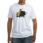 Jazz music Fitted T-Shirt
