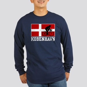 Kobenhaven Cycling Male Long Sleeve Dark T-Shirt