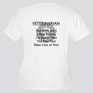 Veterinarian A Real Doctor Women's Plus Size V-Nec