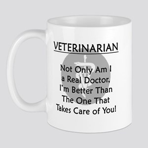 Veterinarian A Real Doctor Mug