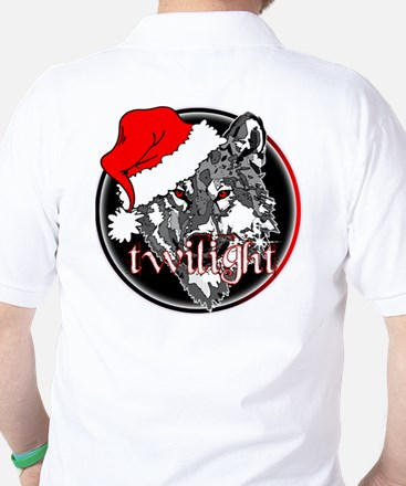 Twilight Christmas Wolf by Twibaby Golf Shirt