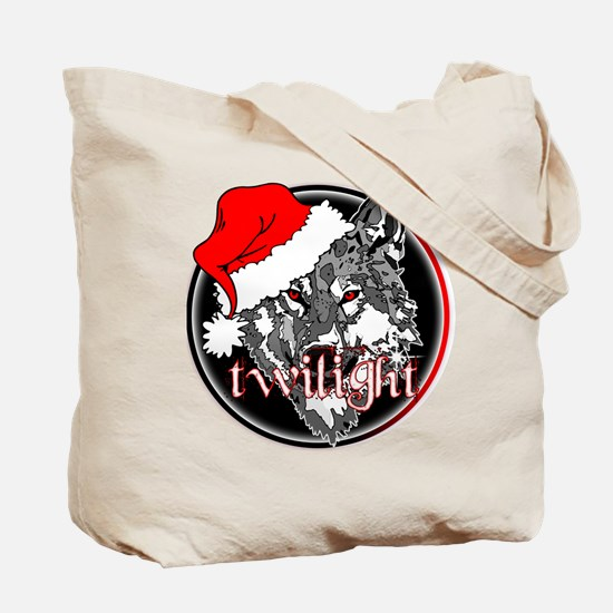 Twilight Christmas Wolf by Twibaby Tote Bag