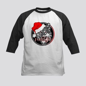Twilight Christmas Wolf by Twibaby Kids Baseball J