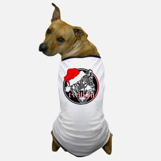 Twilight Christmas Wolf by Twibaby Dog T-Shirt