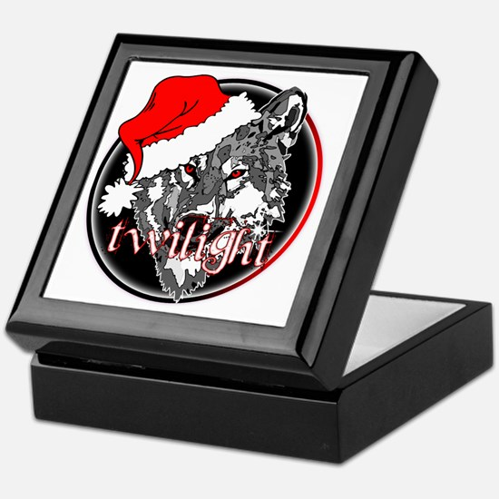 Twilight Christmas Wolf by Twibaby Keepsake Box