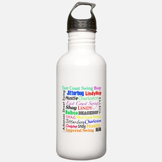 All Swing Dances Sports Water Bottle