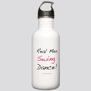 Real Men Swing Dance Stainless Water Bottle 1.0L