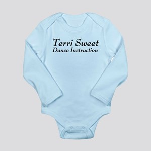 Terri Sweet Dance Long Sleeve Infant Bodysuit