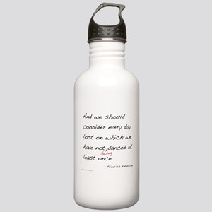 Nietzsche on Swing Dance Stainless Water Bottle 1.