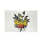 Reggae music Rectangle Magnet (10 pack)