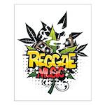 Reggae music Small Poster
