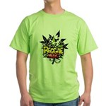 Reggae music Green T-Shirt