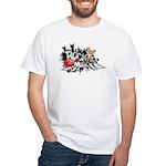 Rock music White T-Shirt