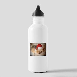 Santa Yorkie - Stainless Water Bottle 1.0L