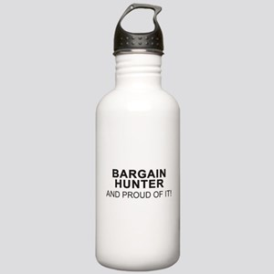 Proud Bargain Hunter Stainless Water Bottle 1.0L