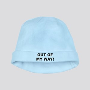 Out Of My Way baby hat
