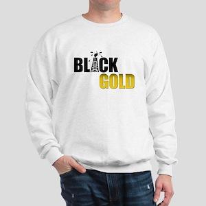 Black Gold Oil Sweatshirt