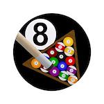 """8-Ball 3.5"""" Button"""