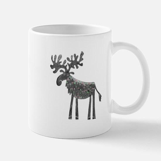 Silver Moose Mug