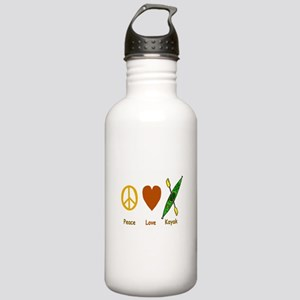Peace,Luv,Kayak Stainless Water Bottle 1.0L