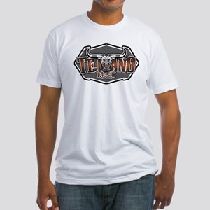 Tejano Music buckle Fitted T-Shirt