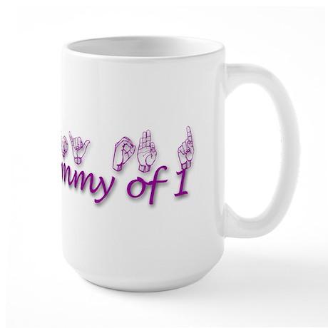 Grandmommy of 1 Large Mug