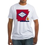 ILY Arkansas Fitted T-Shirt