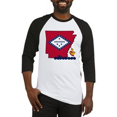 ILY Arkansas Baseball Jersey