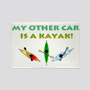 My Other Car Is a Kayak Rectangle Magnet