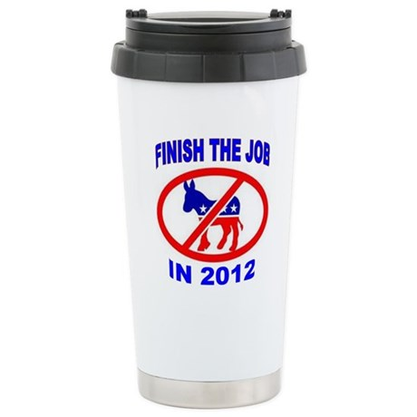 FIRE THEM ALL Stainless Steel Travel Mug