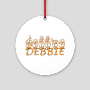 DEBBIE Ornament (Round)