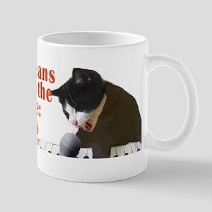 Cats and Music Mug