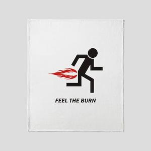 Burn Throw Blanket