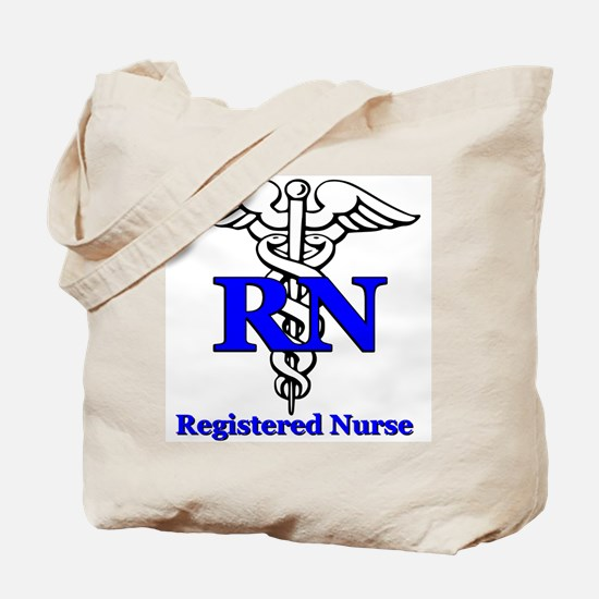 Registered Male Nurse Tote Bag