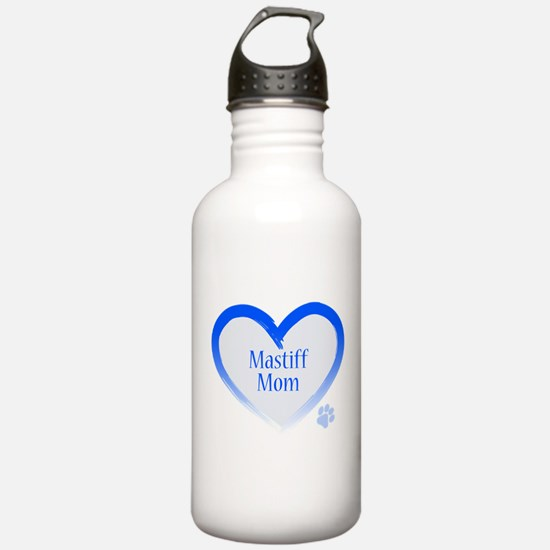 Funny American mom Water Bottle