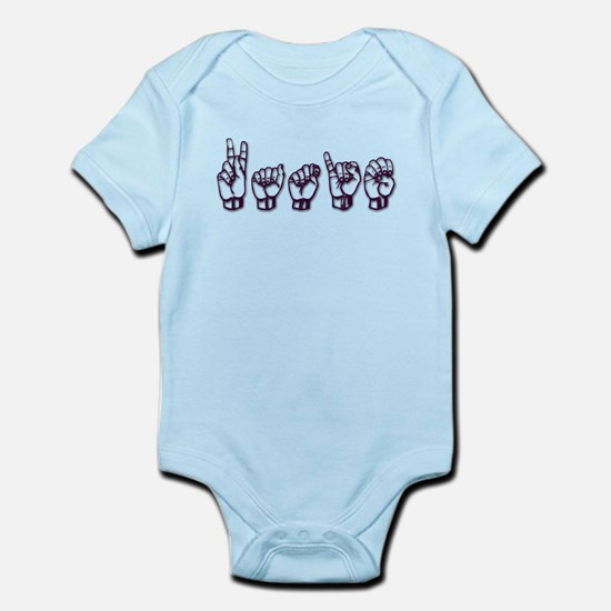 Katie/ASL only Infant Bodysuit