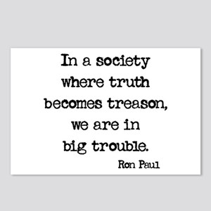 Truth is Treason Postcards (Package of 8)
